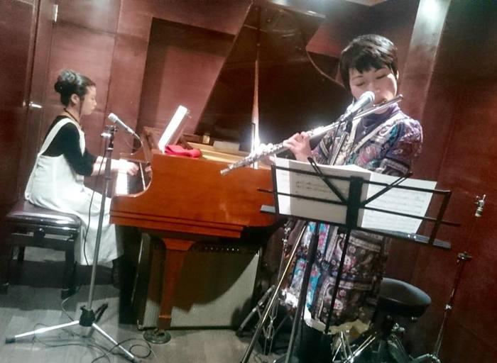yuka & chiggy @ 四谷三丁目Voice