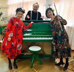 Q☆PIANOを寄贈した保育園で演奏会