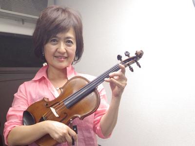 こんどうじゅんこ(近藤 淳子) ヴァイオリン・ヴィオラ・チェロ科担当